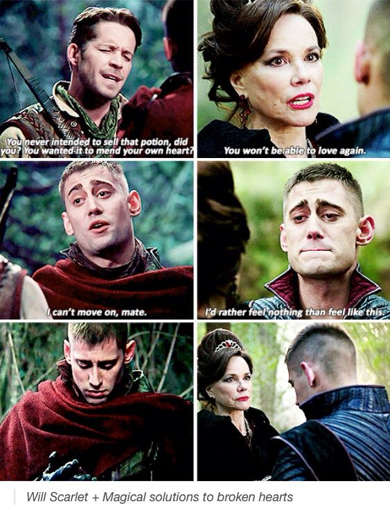 Will Scarlet. #OUAT & #OUATIW