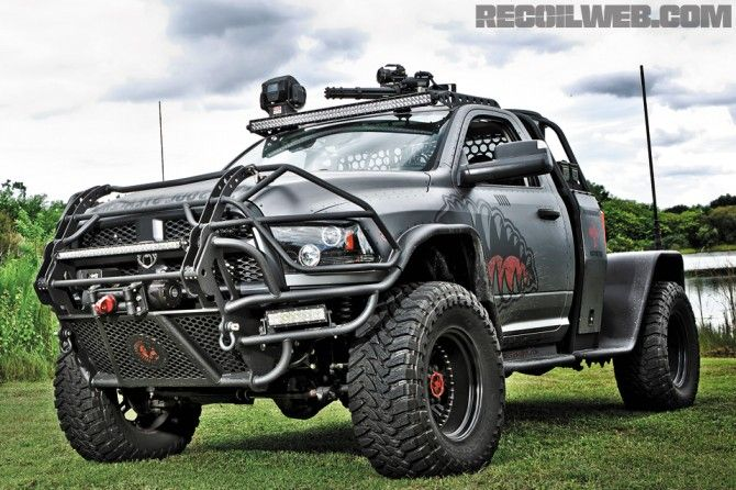 DID SOMEONE SAY ZOMBIE APOCALYPSE?? MEET THE 'BATTERING RAM'.