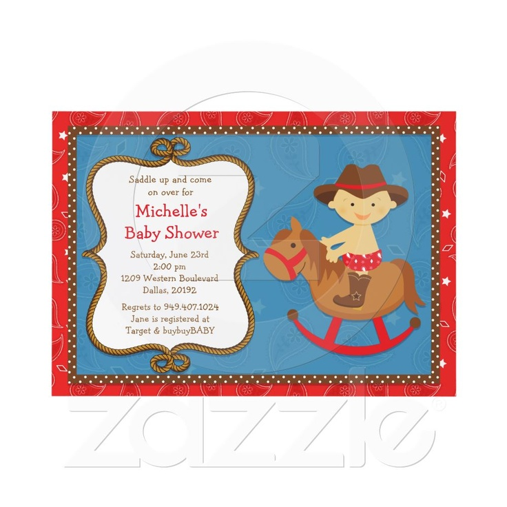 western baby shower invitation cowboy baby shower boy shower baby