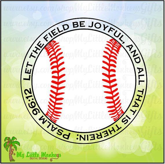 Psalm 96:12 Let the Field be Joyful and by MyLittleMonkeysGifts