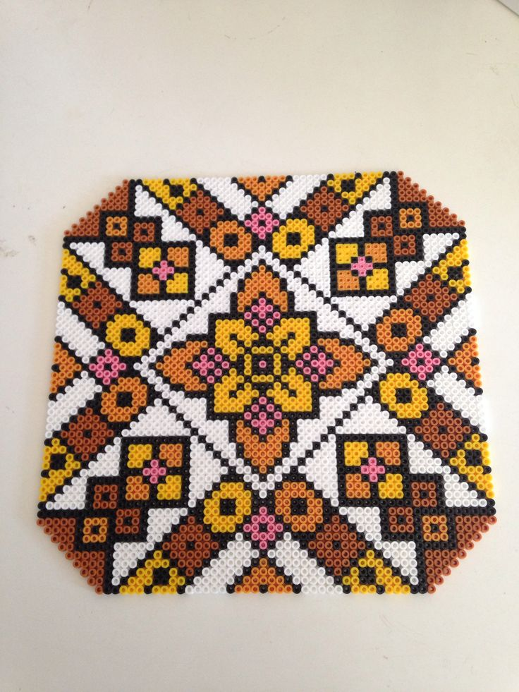 Hama beads made in MIDI  By Sisse Nielsen