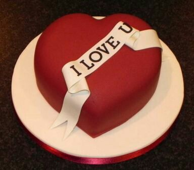 Valantines day cake
