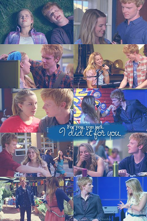 Wen and olivia from lemonade mouth <3