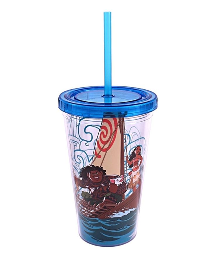 Take a look at this Moana Cast 16-Oz. Travel Tumbler today!