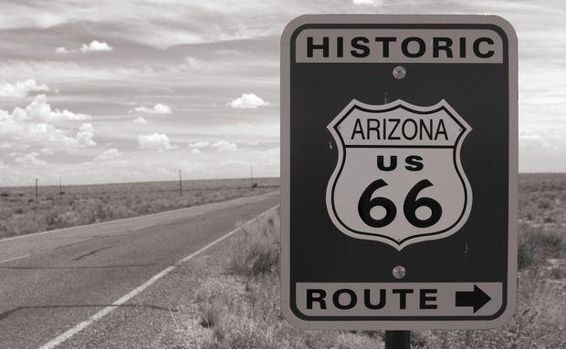 Rota 66, nos Estados Unidos