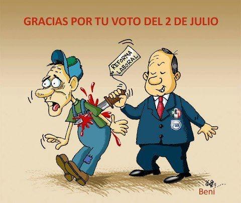 gracias por tu voto