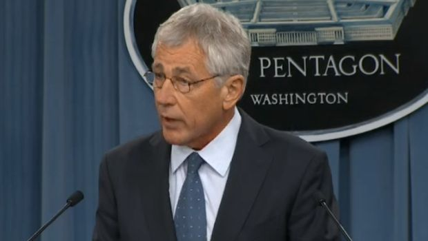 Watch the video live as Secretary of Defense Chuck Hagel announces cuts to military personnel and personal benefits to active duty military members......   http://americanmilitarynews.com/2014/02/video-breaking-hagel-press-conference-announcing-military-cuts/