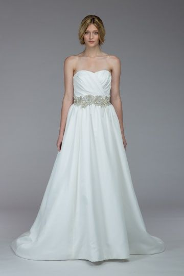 Cool Kate McDonald Aiken original sample sale belt sold separately Fall Wedding DressesStrapless