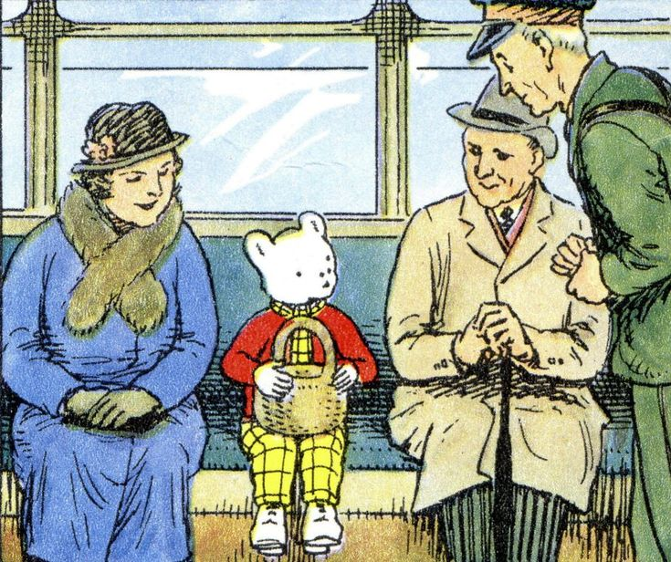 Incultus: A Book Review - Rupert Bear
