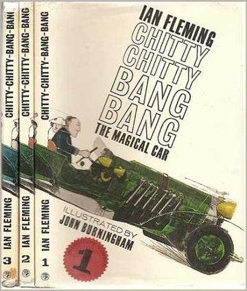 #Brain Pickings #Ian Fleming #Chitty Chitty Bang Bang