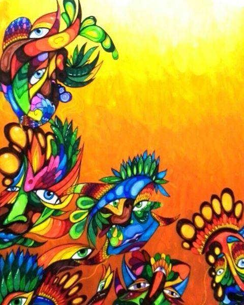 #Art #arte #color #colorful #alegria #funny #Feliz #happy #print #paint #painting #pintura #artist #artista #ilustracion #inspiración #illustration #dibujo #dibujando #draw #drawing #poscagallery #energia #energy