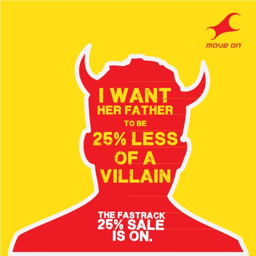 I want her father to be 25% less of a villain. Flat 25% OFF on Bags, Belts, Wallets & Sunglasses!
