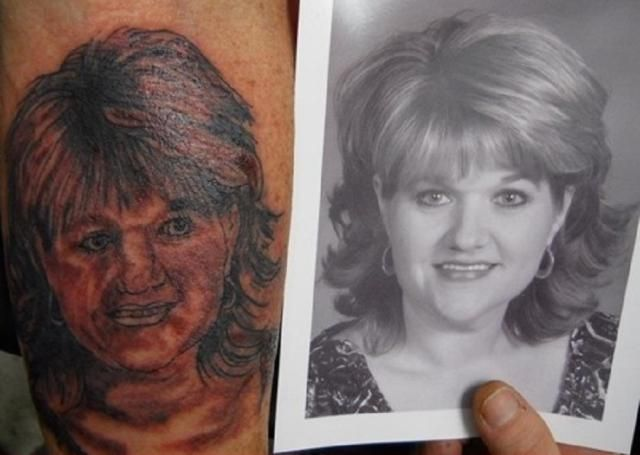 20 Portrait Tattoos That Went Hilariously Wrong: 20 Portrait Tattoos That Went…
