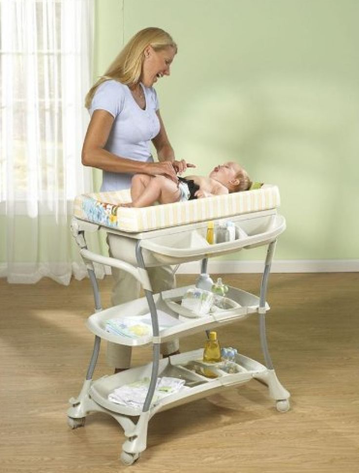 Image Of portable baby changing table