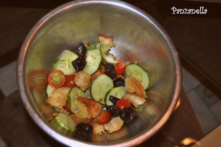 Panzanella (salade de pain dur)
