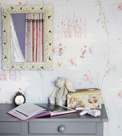 Fairy Castle Wallpaper by Sanderson | Jane Clayton