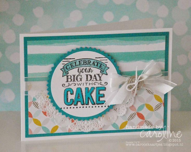 Big Day SAB stamp set, Best Year Ever SAB dsp. - SU - Birthday