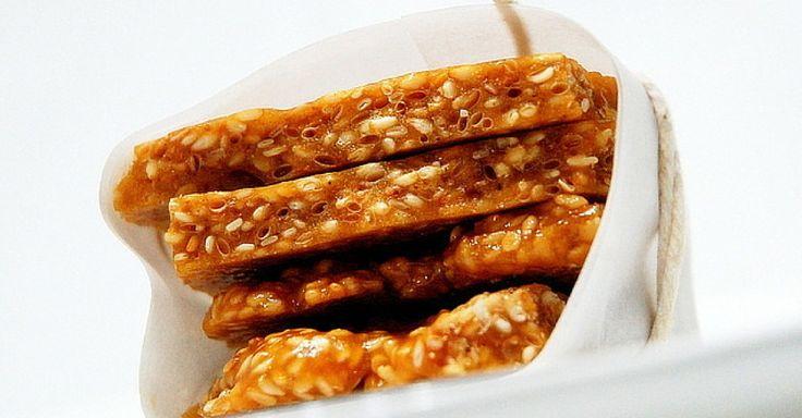 Domácí sezamové plátky s vanilkou a špetkou muškátového oříšku   Čarujeme