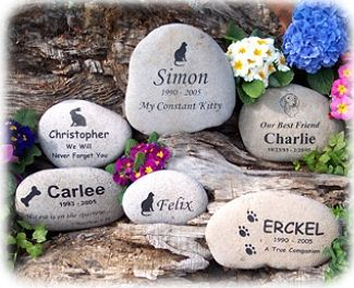 Pet Urns ,Pet Grave Markers, Pet Memorial Stones , Pet Headstones | 4everinmyheart