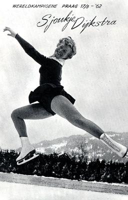 Ja, Sjoukje Dijkstra: iedereen was destijds toch een bewonderaar van haar.....!