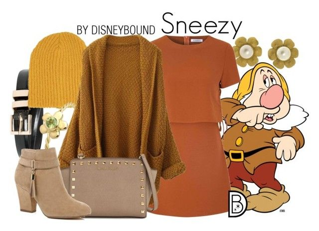 Sneezy by leslieakay on Polyvore featuring polyvore, fashion, style, Glamorous, River Island, MICHAEL Michael Kors, Chanel, Neff, MANGO, women's clothing, women's fashion, women, female, woman, misses, juniors, disney and disneybound