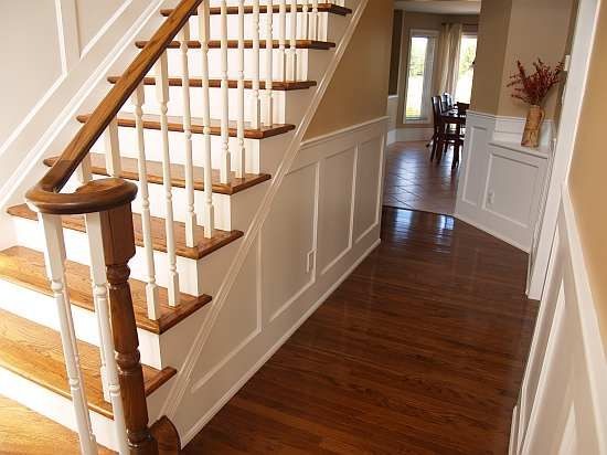 Foyer Staircase Kit : Best images about wainscoting on pinterest foyers