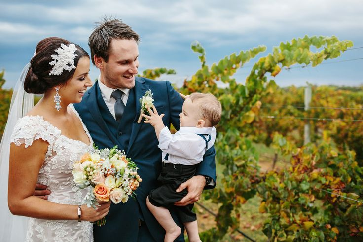 Samantha, Trent & the gorgeous little Lewis at Watershed Winery Margaret River, flowers by Scentiment Flowers, photography by Bianca Kate Photography