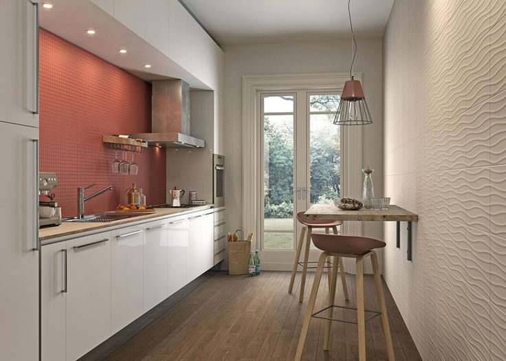 #Neutral | #Marazzi | #kitchen | #decoration | #walltiles | #ceramics | #red