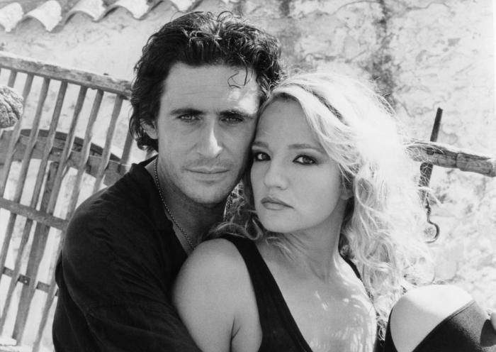 Gabriel Byrne and Ellen Barkin, The former couple, Source: Pinterest