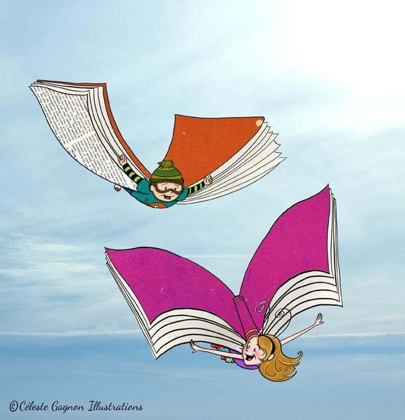 Wings - digital doodle by Celeste