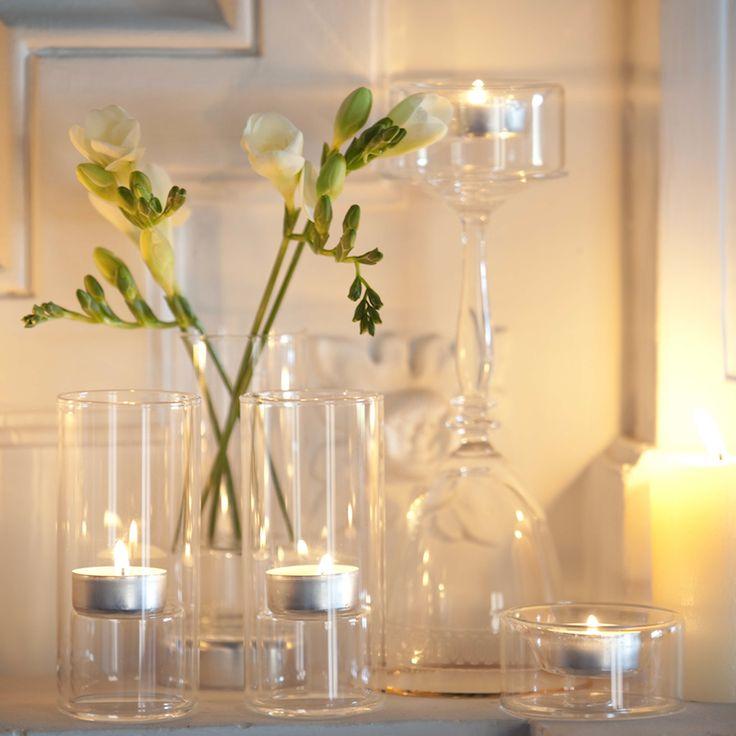 Porta velas de cristal tubo para decoraci n y eventos - Portavelas cristal ...