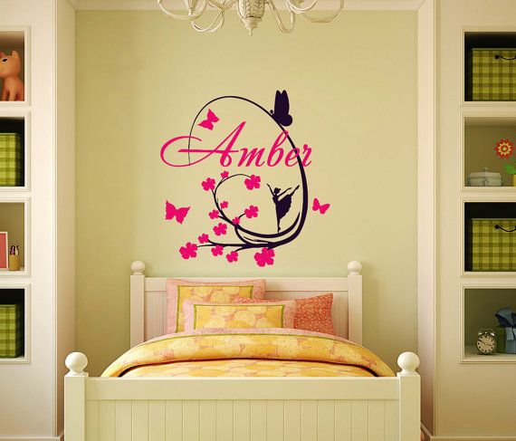 Best Name Wall Decals Images On Pinterest Name Wall Decals - Custom vinyl stickers for walls