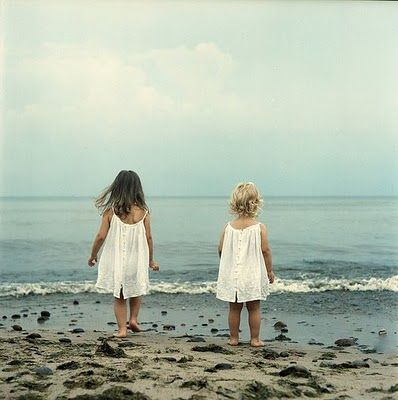 SistersLittle Girls, Sisters Photography, Baby Baby, The Ocean, Baby Boys, At The Beach, Sisters Photos, Baby Girls, Little Sisters