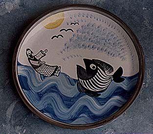 Amnon Israeli, Israeli artist, Jonah plate