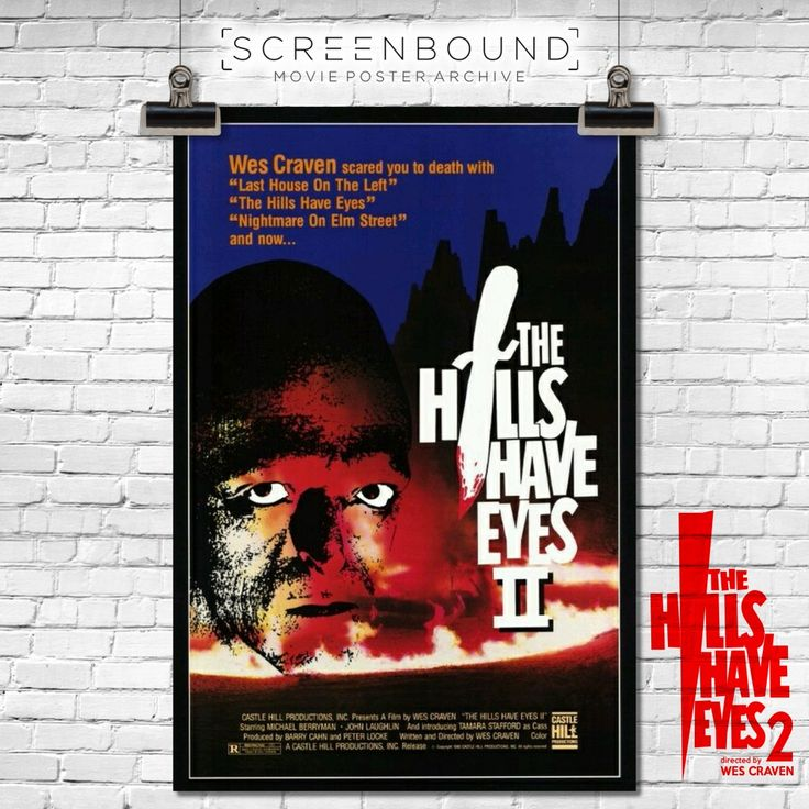 From the #Screenbound archive comes a nice pack of #filmposters and #stills from #WesCraven's blood-thirsty sequel to the massive cult #horror hit The Hills Have Eyes in which the hills around Yucca Valley become another slaughter ground at the hands of a gang of barbaric cannibals! #cinema #film #filmhistory #classicfilms #classicmovie #classicmovies #cultclassic #movietime #movienight #cinephile #horror #horrormovie #horrorjunkie #horroraddict #horrorfanatic #horrornerd…