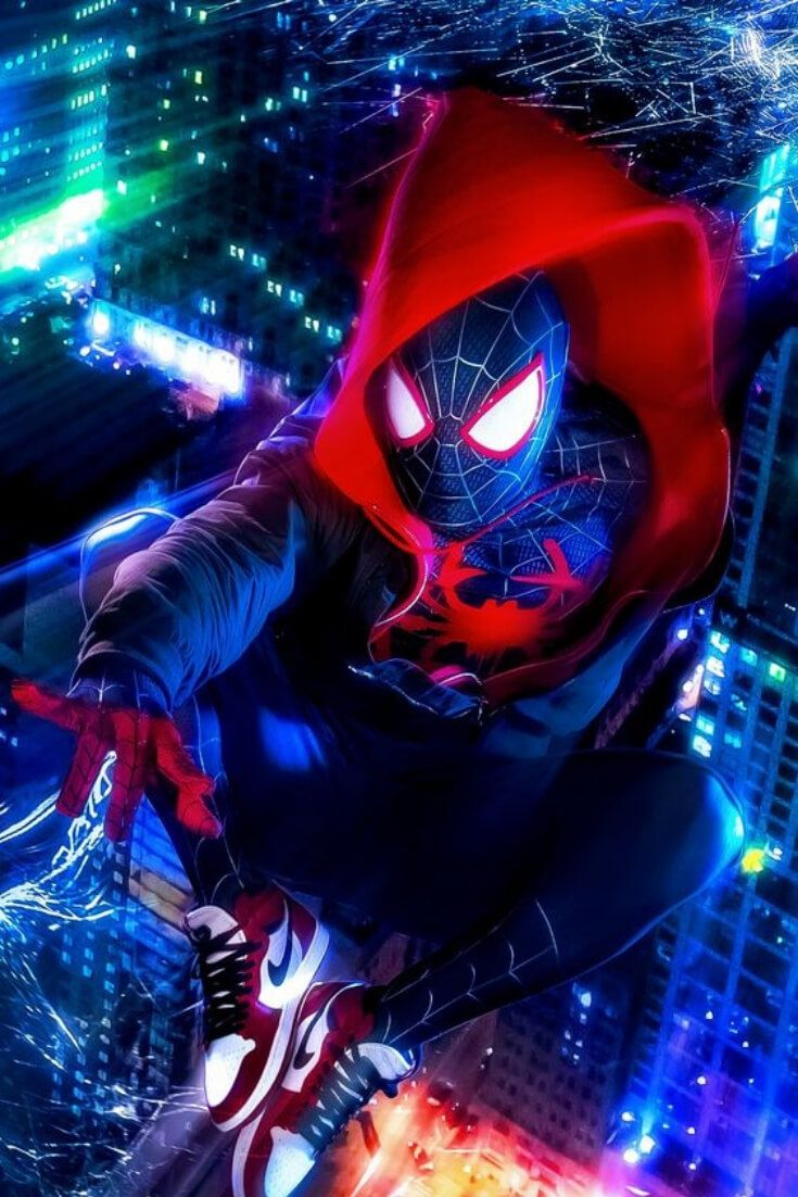 The best Spiderman wallpapers by Miles Morales – Disruptivoo