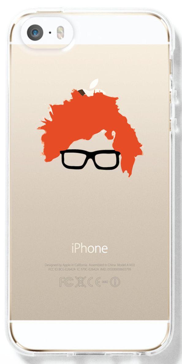 Ed Sheeran Doodle Transparent Interchangeable Phone Case