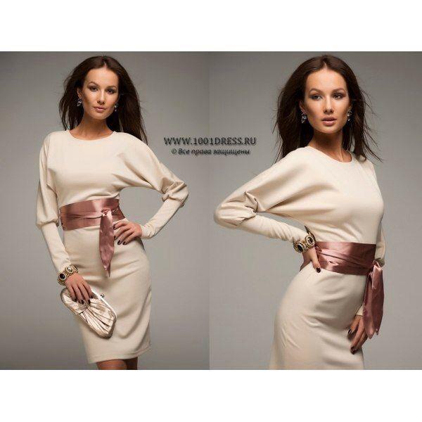 """380 Платья средней длины «Midi» - Платье """"1001dress"""" MD163"""