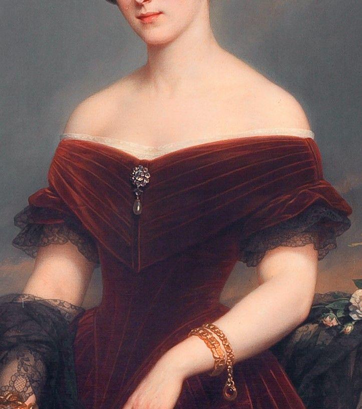 Isabelle- Antoinette, Barones Sloet van Toutenburg by Nicaise de Keyser