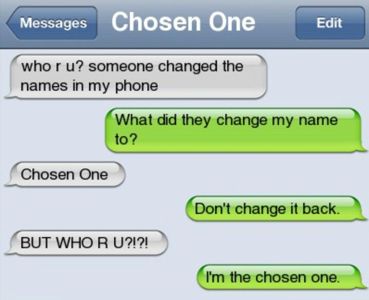 """Anyone notice how wrong this is?? The green is the person with the phone but they're talking to """"Chosen One""""...... IT DOESN'T WORK THAT WAY!!!!"""