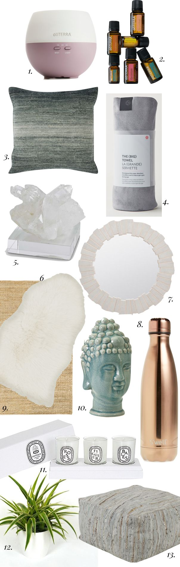 13 Essentials for your Wellness and Meditation Room                                                                                                                                                     More