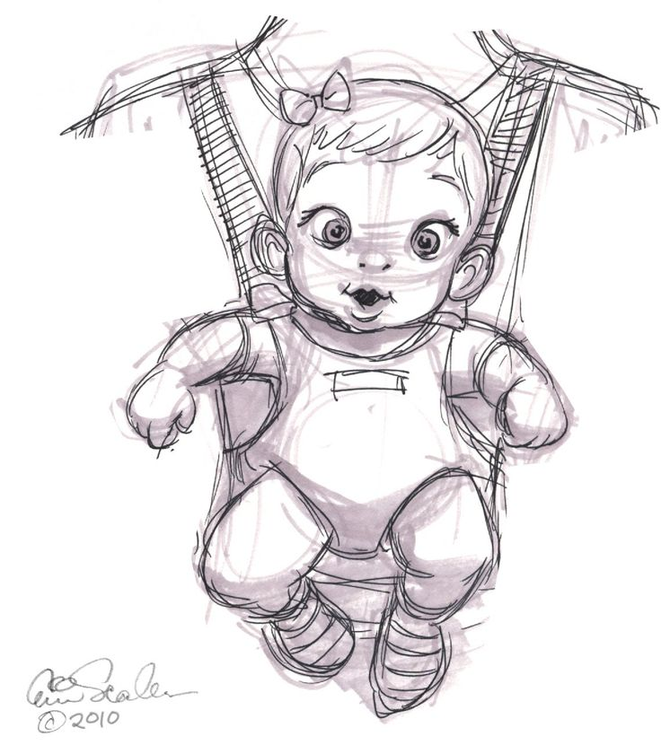 How to Draw a Baby Girl | Posted by Eric Scales at 12:06 AM 1 comment: Links to this post