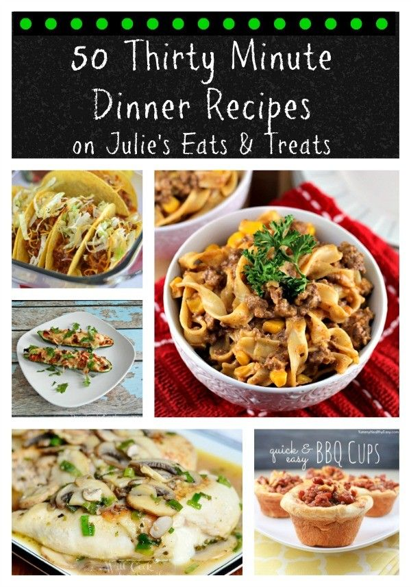 50 thirty minute dinner recipes texts easy family Easy dinner recipes for family of 6