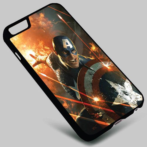 Captain America The Avengers Iphone 4 4s 5 5s 5c 6 6plus 7 Samsung Galaxy s3 s4 s5 s6 s7 HTC Case