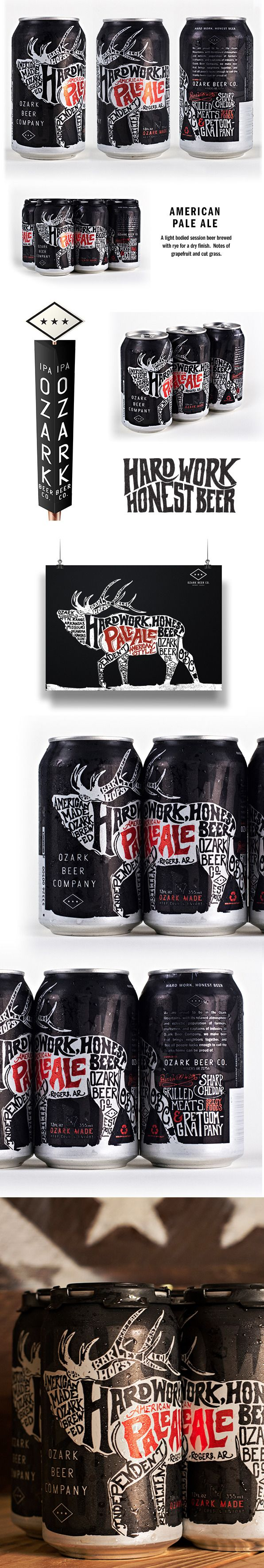 Ozark Beer Company - Can Design by Jeremy Teff