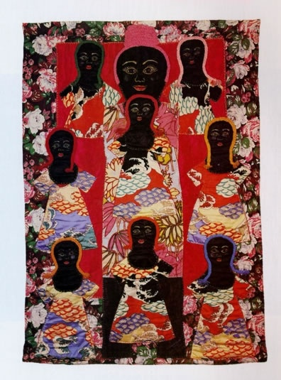 """Faith Ringgold """"Mother's Quilt"""""""
