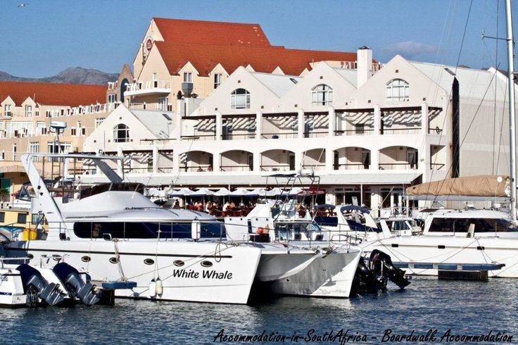 Boats at Gordon's Bay. Beautiful views. Boardwalk Accommodation. Accommodation in Gordon's Bay. Gordon's Bay Accommodation.