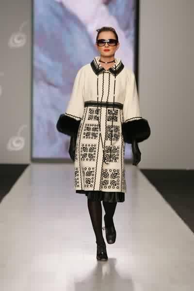 Ukrainian embroidered coat