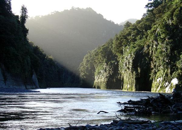 Whanganui River - home to many taniwha - dragons