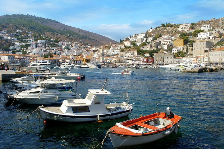 Hydra harbor by Steve Levin on 500px